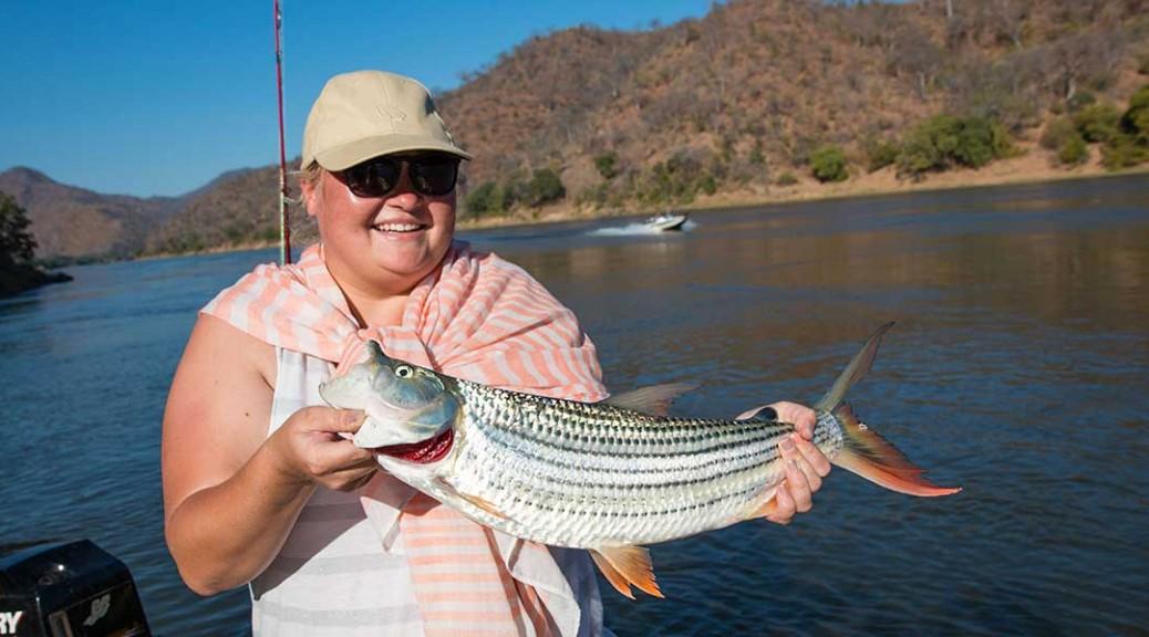Fishing for Tigerfish on the Zambezi