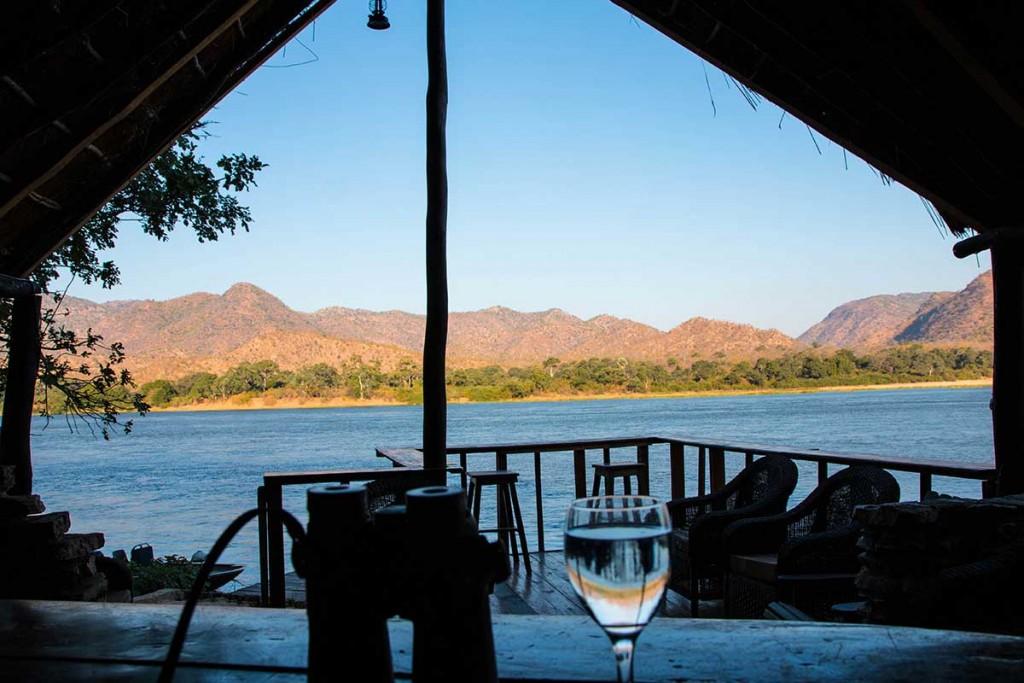 view across Zambezi