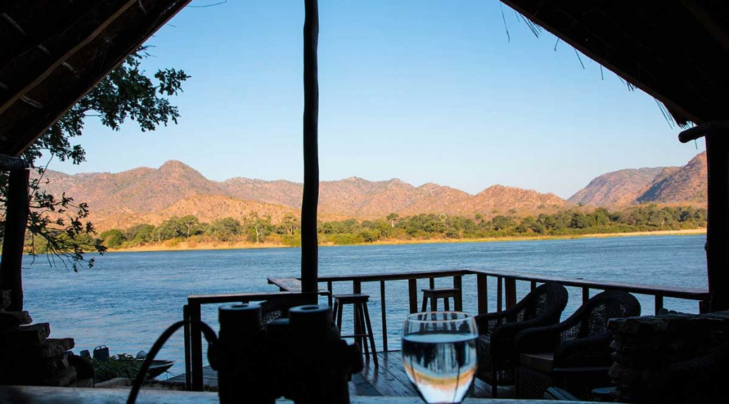 view across Zambezi