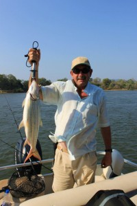 Zambezi fishing -